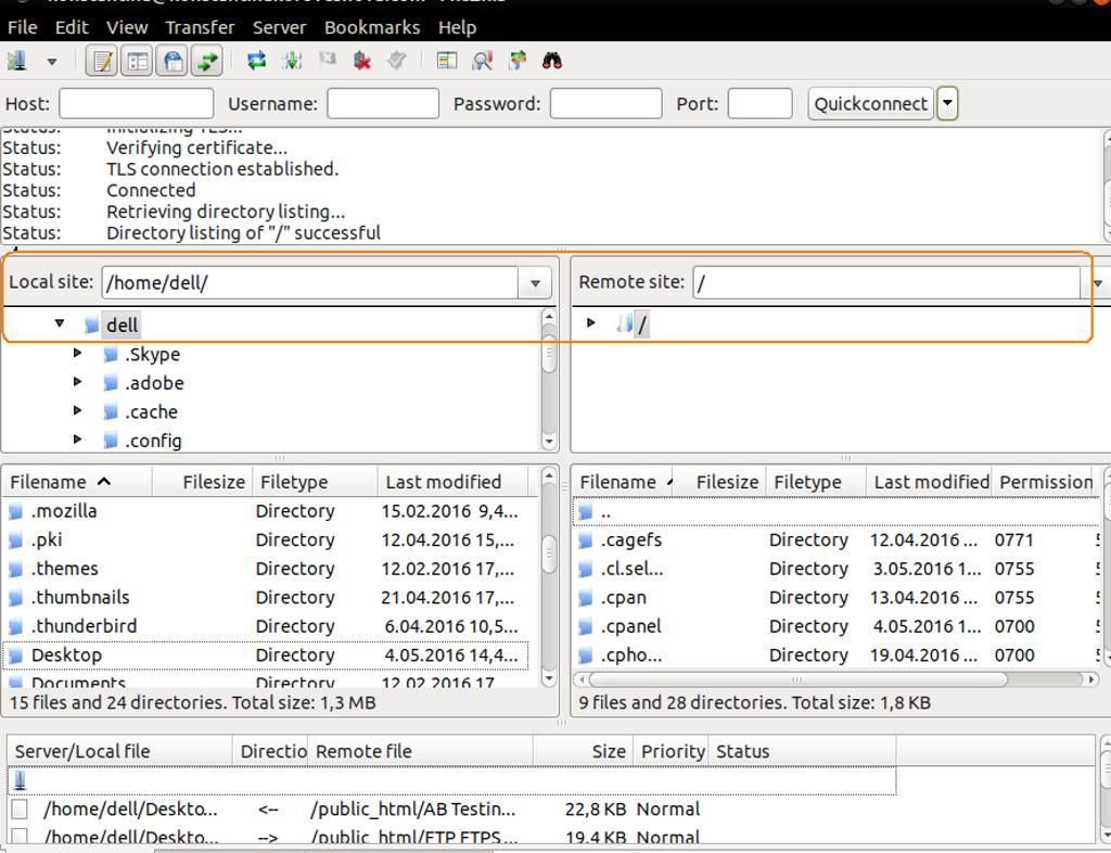 How to Transfer Files via FTP (FileZilla) ? | ETNHost com