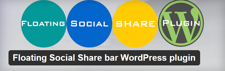WordPress Floating Social Share Bar WordPress