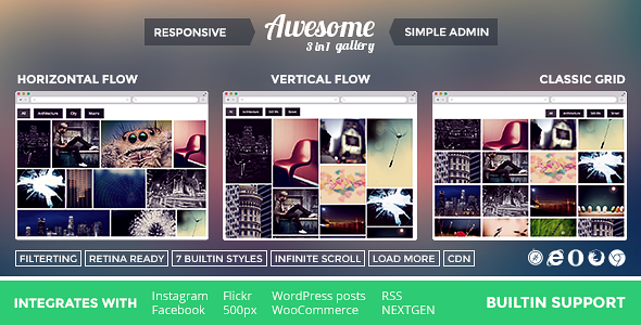Awesome WordPress Gallery Plugin
