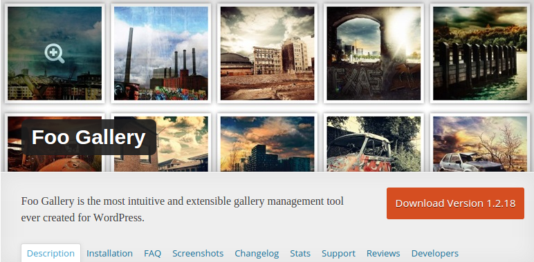 Foo Gallery WordPress