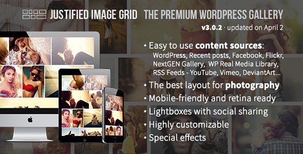 Justified Image Grid WordPress Plugin